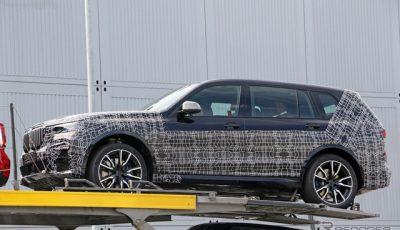 BMW X7 プロトタイプ スクープ写真