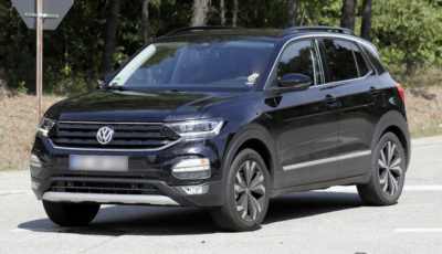 VWの最小SUV「Tクロス」スクープ写真