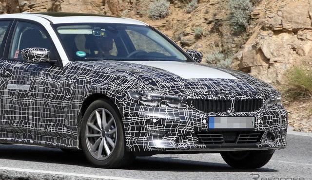 BMW 3シリーズ EV スクープ写真