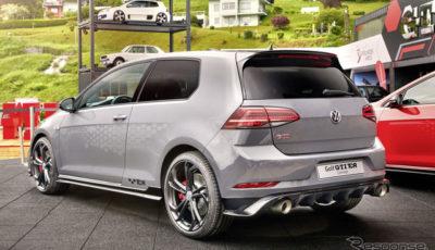 VW ゴルフGTI TCRコンセプト