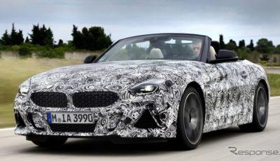BMW Z4 新型の開発プロトタイプ