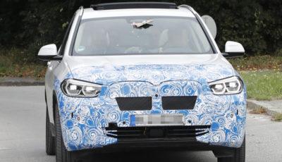 BMW iX3 スクープ写真