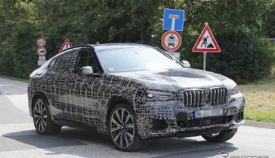 BMW X6 新型スクープ写真