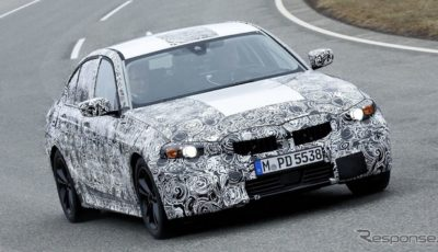 BMW 3シリーズ セダン次期型の開発プロトタイプ
