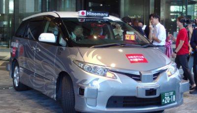 ZMP×日の丸交通の自動運転タクシー
