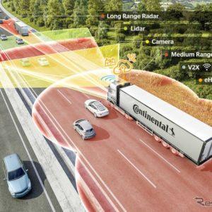 コンチネンタルの最新の自動運転技術