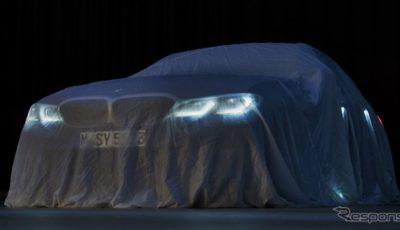 BMW 3シリーズ セダン 新型のティザーイメージ