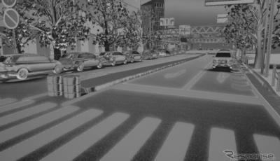 OTSLの新製品「AIRBシミュレータ」は、自動運転向け赤外線センサシミュレータとしては世界で初めて、動的なリアルタイムのシミュレーションを可能にした