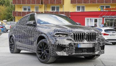BMW X6M 次期型スクープ写真