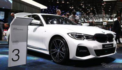BMW 3シリーズ セダン 新型(パリモーターショー2018)