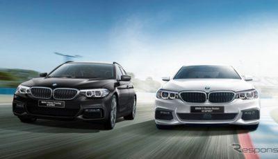 BMW 523i Mスピリット(右)と523dツーリング Mスピリット