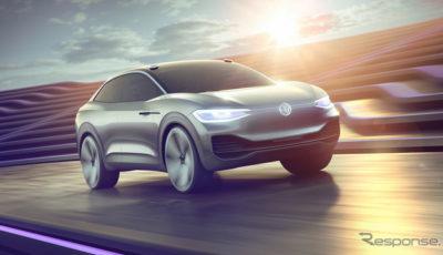 フォルクスワーゲンの次世代EV、I.D.CROZZ。自動運転も可能