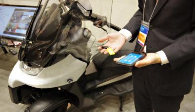 「ネットワークアシスト型自動運転プラットフォーム」の実証実験に車両を提供するADIVAの3輪バイク