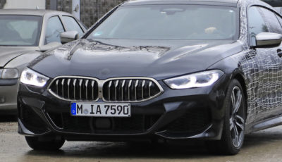 BMW 8シリーズグランクーペ「M850i」スクープ写真
