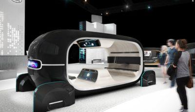 キアの「R.E.A.Dシステム」搭載の自動運転コンセプトカーのイメージ
