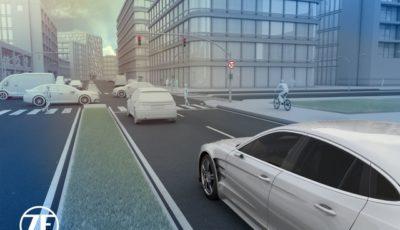 ZFの自動運転向け最新センサー技術のイメージ