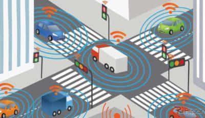 3Mとオンセミコンダクターが共同開発するコネクテッドカーと自動運転車の統合システムのイメージ