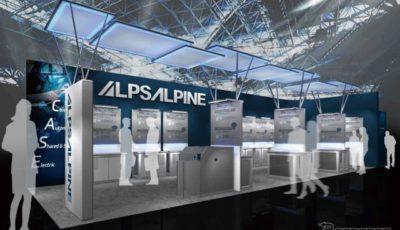 アルプスアルパイン ブースイメージ