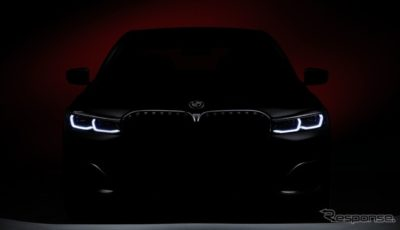 BMW7シリーズ改良新型のティザーイメージ