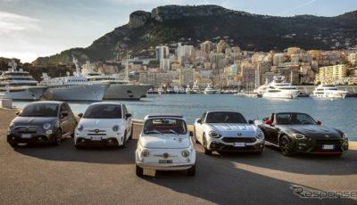 アバルトの70th Anniversary各車