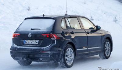 VW ID. CROZZ 市販型スクープ写真