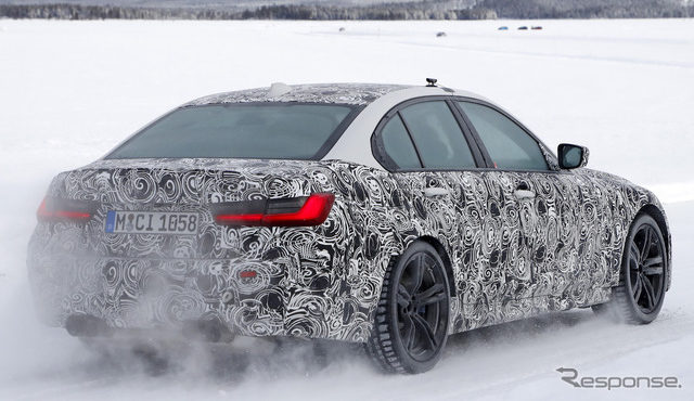 BMW M3 次期型 スクープ写真