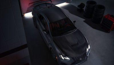 レクサス RC F 改良新型のトラックエディション