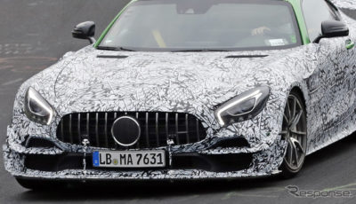 メルセデス AMG GT ブラックシリーズ 市販型(スクープ写真)