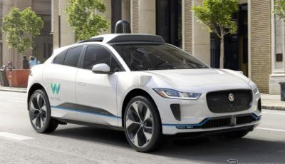 ウェイモに納入されるジャガー I-PACE の自動運転テスト車両