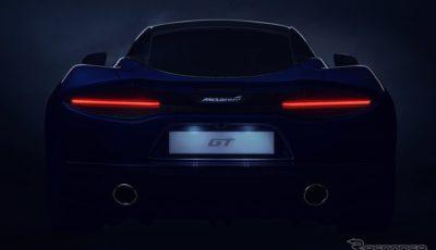 マクラーレン GT のティザーイメージ