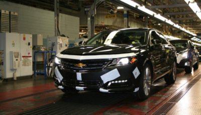 GMのカナダ・オンタリオ州のオシャワ工場