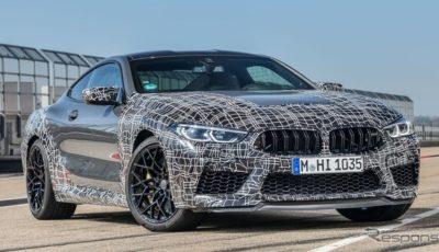 BMW M8 クーペ 新型の開発プロトタイプ
