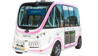 自動運転EVバス NAVYA ARMA