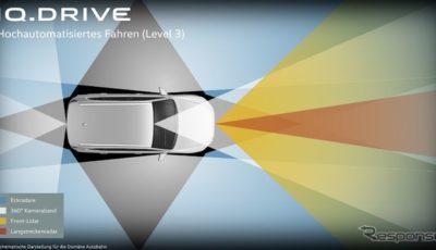 フォルクスワーゲンの新開発の自動運転システムのイメージ