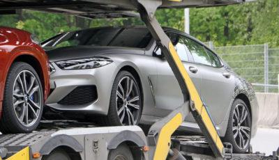 BMW 8シリーズグランクーペ(スクープ写真)