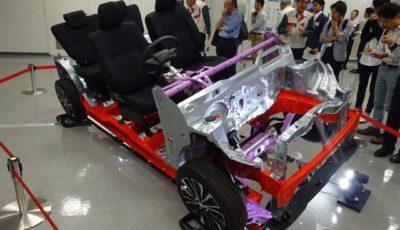ダイハツ DNGAの軽自動車用プラットフォーム