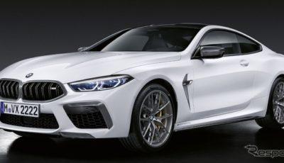BMW M8 新型のMパフォーマンスパーツ