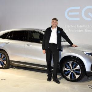 メルセデスベンツ EQC 開発責任者を務めたダイムラーAGのミヒャエル・ケルム氏