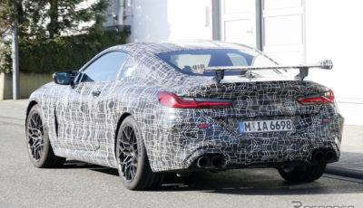 BMW M8クーペ CS テスト車両(スクープ写真)