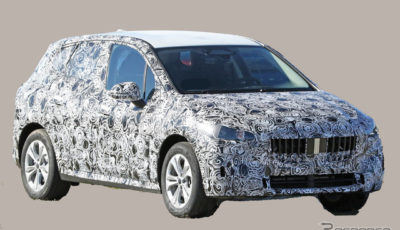 BMW 2シリーズアクティブツアラー 次期型プロトタイプ(スクープ写真)
