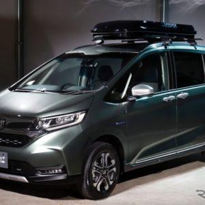 ホンダ フリード 改良新型 ホンダアクセス用品装着車