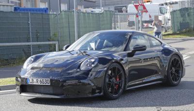 ポルシェ 911 GT3ツーリング 開発車両(スクープ写真)