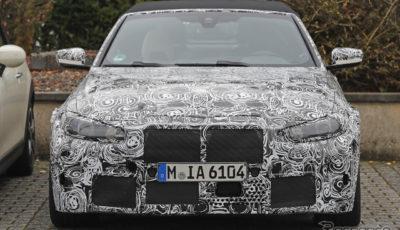 BMW M4カブリオレ 新型プロトタイプ スクープ写真