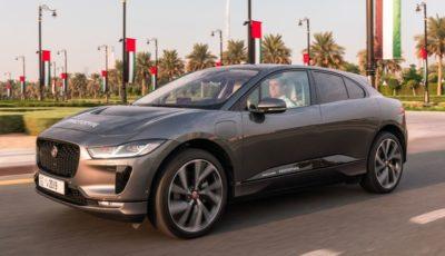 ジャガー I-PACE ベースの最新自動運転プロトタイプ車
