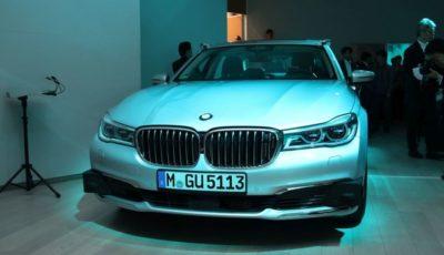 BMWのレベル4自動運転実験車両