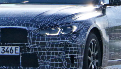 BMW i4 開発車両 スクープ写真
