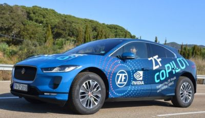 ZFの自動運転システム「コパイロット」を搭載したジャガーI-PACEのデモ車両(参考画像)