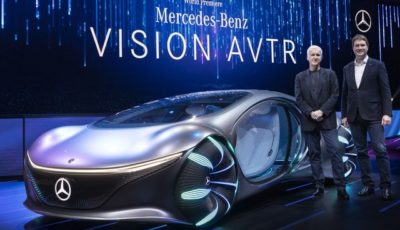 メルセデスベンツ・ヴィジョン AVTR(CES 2020)