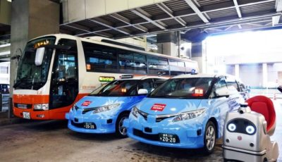 空港リムジンバス・自動運転タクシー・自動運転モビリティを活用した MaaS 実証実験を世界で初めて実施