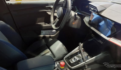 アウディ S3スポーツバック 次期型プロトタイプ(スクープ写真)